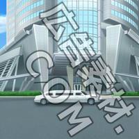 スマホ広告向け背景画像:高級なオフィスビル外観