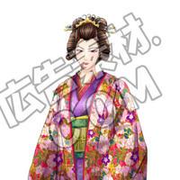 篤姫のキャラ画像(差分含めて7枚/PSD付き)