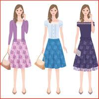 女性向けファッションレンタルのアフィリエイトブログを作る記事セット!