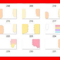 色付き吹き出し画像29パターンセット!