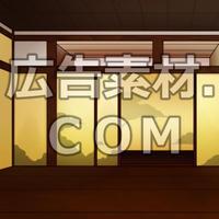 スマホ広告向け背景画像:武家屋敷室内2