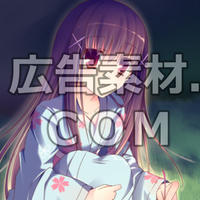 ニコニコ動画やゲーム雑誌で話題となった黒髪の女子高校生2年キャラスチル画像1(1枚絵)