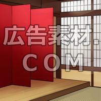 スマホ広告向け背景画像:料亭室内1
