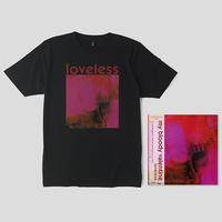 マイ・ブラッディ・ヴァレンタイン / ラヴレス 帯付輸入盤LPデラックス・エディション+Tシャツ(L)