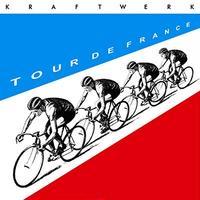 KRAFTWERK クラフトワーク - TOUR DE FRANCE: LIMITED BLUE & RED COLOURED VINYL