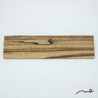 wood plate / 黒柿02