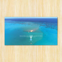 2020 yoron blue. calendar | AERIAL IMAGES of YORON