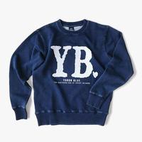 YB021 YB. indigo sweatshirts