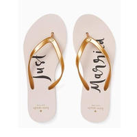 Kate Spade New York♠︎ Just Married Flip Flops《送料込》