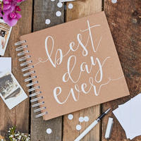 """Guestbook """"Best Day Ever"""" 《送料込》"""