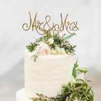 Wire Letter Cake Topper 《送料込》