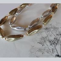 ツイストタイプ ロング|Twist Necklce L Silver/86cm Gold/80cm