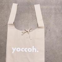yoccoh.ロゴ big マルシェバッグ