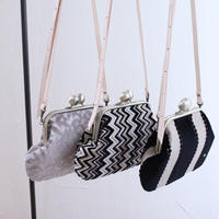 即納 new!   wallet shoulder bag (fabrics)