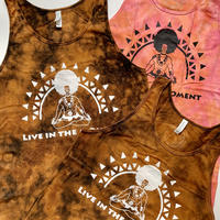'live in the moment' yoga tank 2017 Afroman