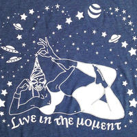 'live in the moment' yoga tank 2016
