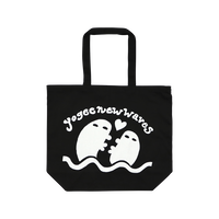 YOGEE LOVE GOES ON Tote(BLACK)
