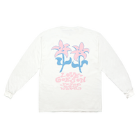 YOGEE LOVE GOES ON Tee(WHITE)