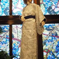 SD17少年 大島紬ノ着物セット001