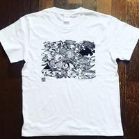 モンドくんTシャツ|おさかな|ホワイト