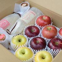 まるごとりんごセット~信州りんご3兄弟~5キロ