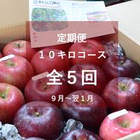 【2021年】りんご定期便10キロコース/全5回/9月~来年1月(送料込み※)