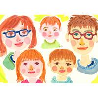 【5名さま用】2021年9月15日-26日 村田エミコ 水彩似顔絵 参加費