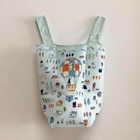 【オリジナル】出口かずみイラスト よもぎBOOKS3周年記念エコバッグ