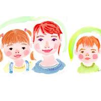 【3名さま用】2021年9月15日-26日 村田エミコ 水彩似顔絵 参加費
