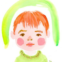 【1名さま用】2021年9月15日-26日 村田エミコ 水彩似顔絵 参加費
