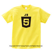 javascript Tシャツ イエロー or ホワイト