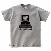 404 Not Found  Tシャツ 杢グレー