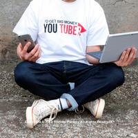 Youtuber ユーチューバー Tシャツ ホワイト 001