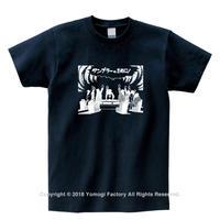 Tumblr Tシャツ 005 ネイビー
