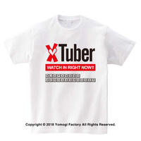 XtuberTシャツ 001 男の娘Tシャツ