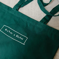 THE BICHES &BÛCHES KNITTING TOTE BAG(グリーン)