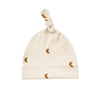 【QUINCY MAE】KNOTTED BABY HAT | MOONS