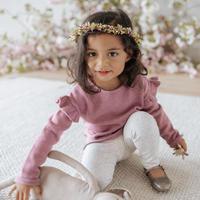【Jamie kay】Flutter Knit - Ash Rose Marle