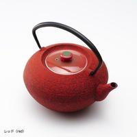 YOnoBI 鋳物ティーポット【HIRA】レッド