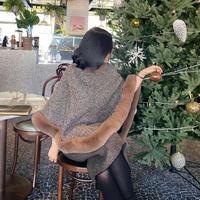 レデイゴージャスマント【裏地は毛布の様に暖かく軽い♡】