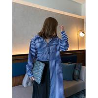 【3月25日まで1000円OFF】ミランダプリーツシャツドレス