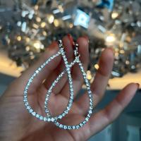 【数量限定&国内発送】ルッキングダイヤモンドフープイヤリング