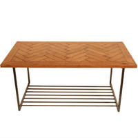 HERRINGBONE LOW TABLE