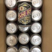 """15本SET """"Swing & Bop (Dark Lager)"""" 350ml缶"""