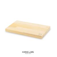 送料無料 青森ヒバのまな板 16.5×27×2cm 寄木 ふるさと納税でも好評