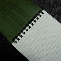 ライトインザレイン 4×6 ノートブック トップスパイラル