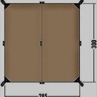 TATONKA タトンカ Tarp タープ 2 Simple シンプル