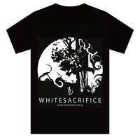【T-shirt】white sacrifice T-shirt