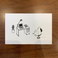 ポストカード〈オフィス〉