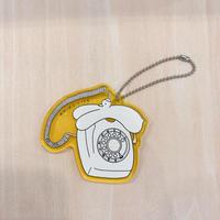 アクリルキーホルダー〈白電話〉